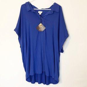 Ava & Viv Pullover Tunic Top Size 4X
